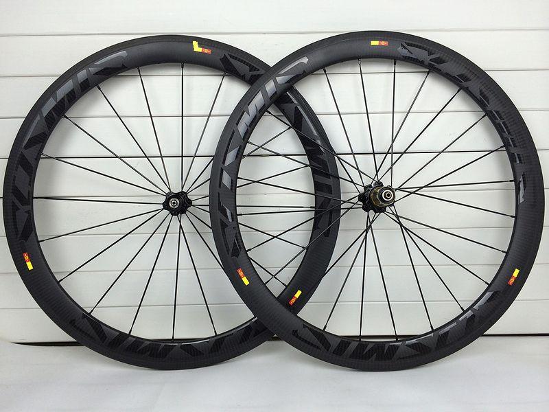 50mm Carbon Rennrad Räder 700C 23mm Klammer Tubular 3K Twill Matte Carbon Laufradsatz XDB Verschiffen 1 jahr Garantie