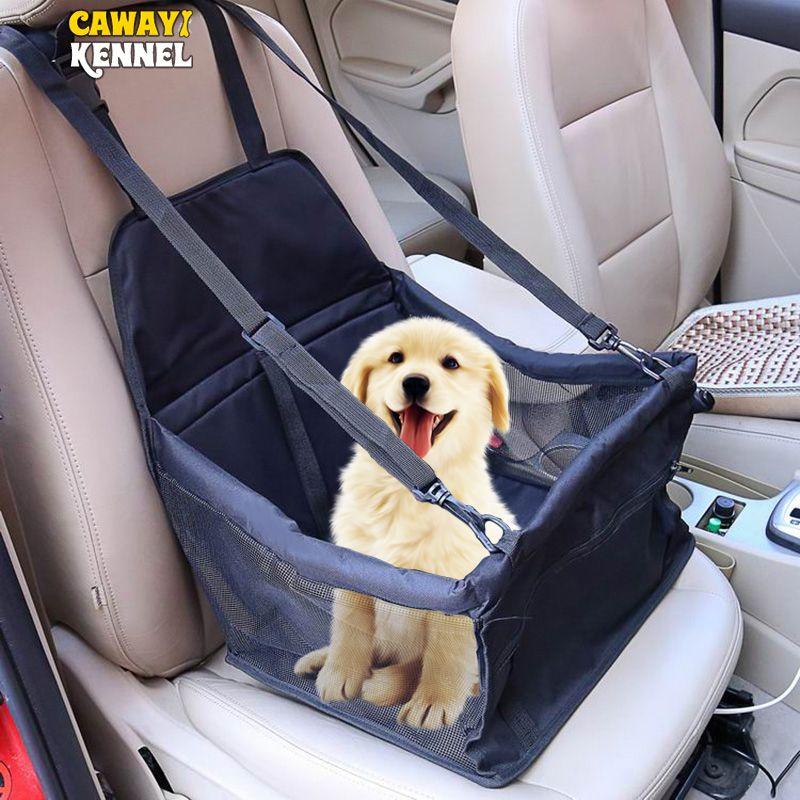 CAWAYI chenil voyage chien couverture de siège de voiture pliant hamac Pet transporteurs sac de transport pour chats chiens transportin perro autostoel hond