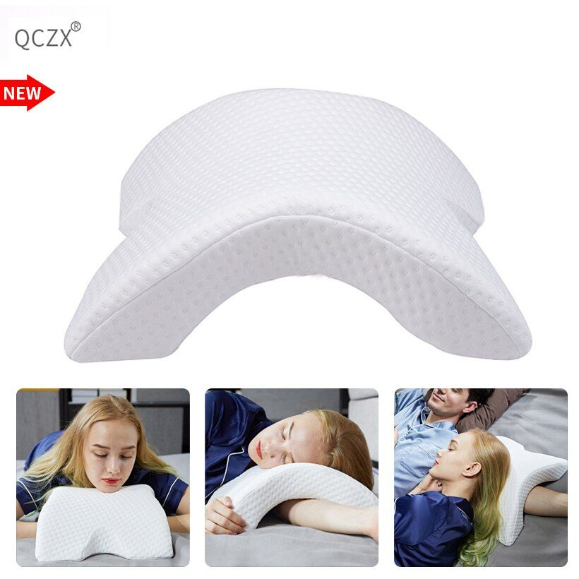 QCZX lent rebond pression oreiller mémoire mousse literie oreiller multifonction Anti-pression main oreiller santé cou Couple oreiller