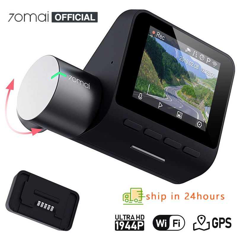 Mi 70mai Pro Dash Cam 1944P GPS ADAS Car Camera Dvr 70 mai Pro Dashcam Voice Control 24H Parking Monitor WIFI Vehicle Camera