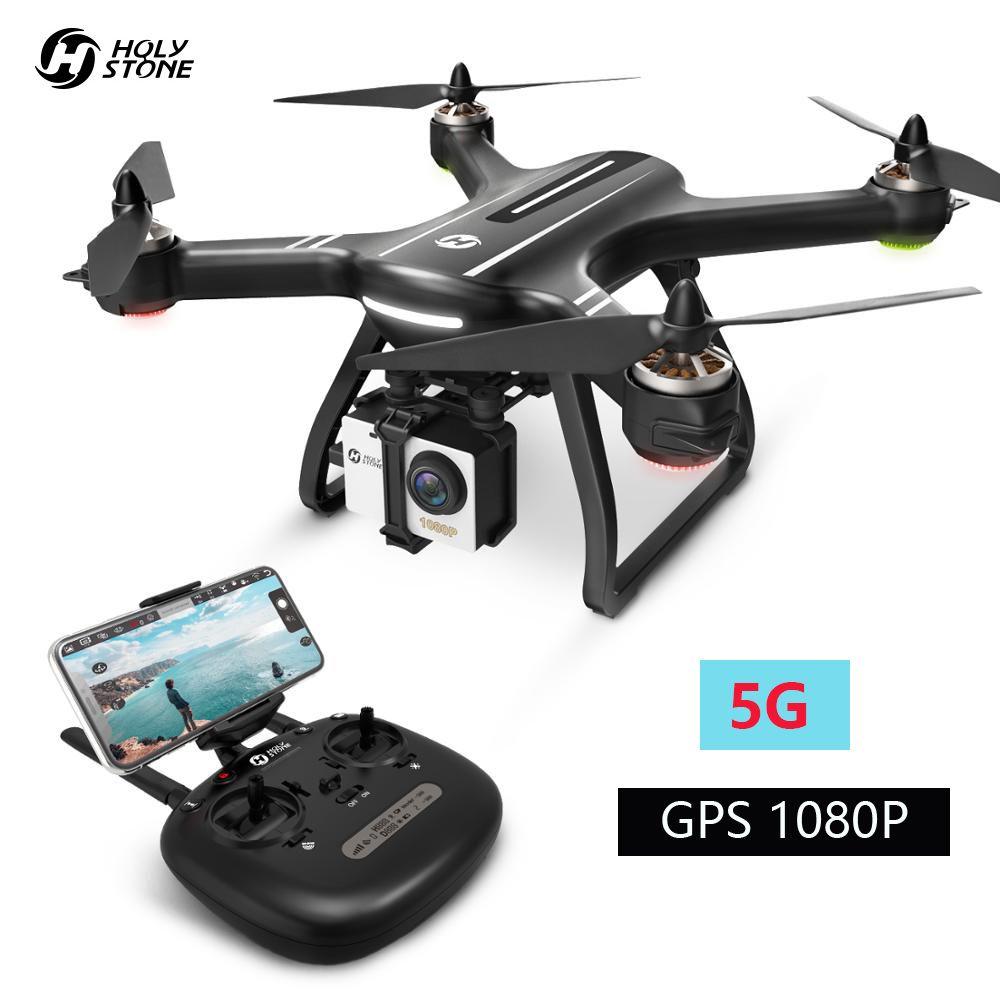 Heiligen Stein HS700 Drone GPS 5G 1080P FHD Wi-Fi Kamera FPV Profissoinal RC Hubschrauber 1KM Flug Palette bürstenlosen Motor 2800mAh