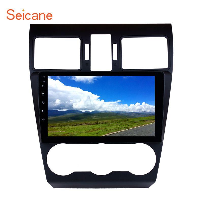 Seicane Android9.0 Auto Radio GPS Multimedia Player 9 Zoll HD 1024*600 Kapazitiven Bildschirm für 2014 2015 2016 Subaru forester