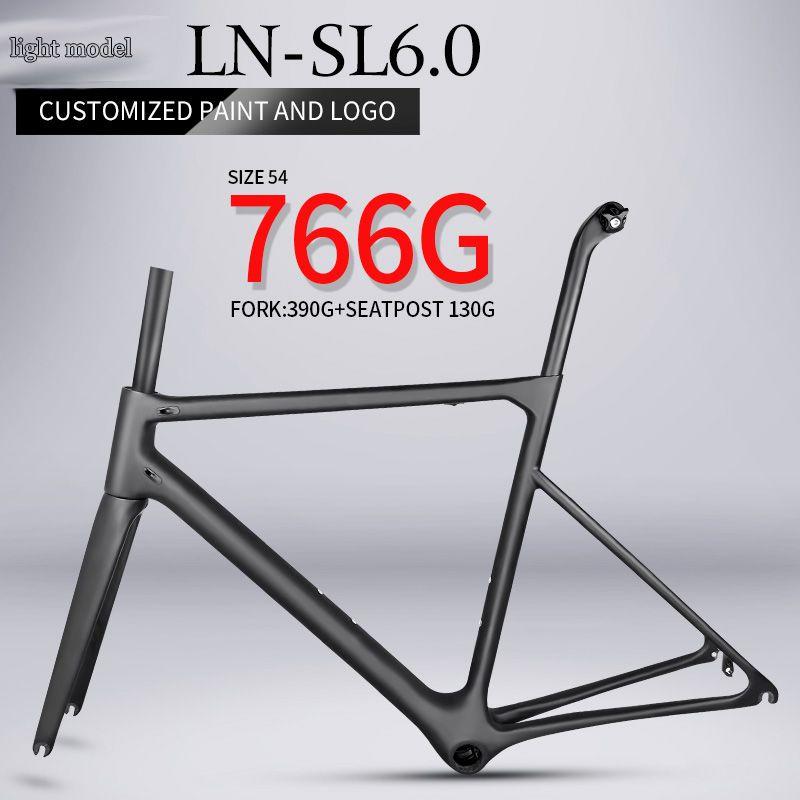 Super licht T1000 carbon rennrad rahmen 766g Chinesischen hohe qualität racing framest carbon faser fahrrad rahmen BB86 innere kabel