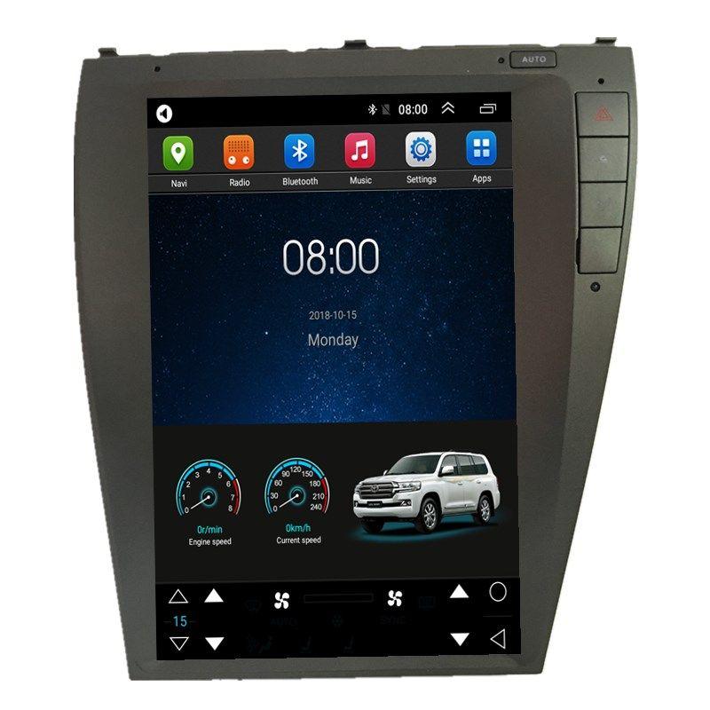 12,1 Tesla Android Car Multimedia Stereo DVD GPS Navigation für Lexus es ES240 ES250 ES330 ES350 2006 2007 2008 2009 2010 2011