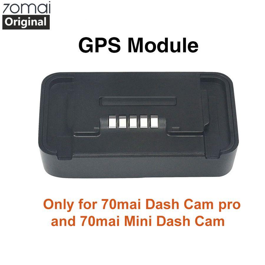 Module d'origine 70mai Pro GPS pour 70 mai Dash Cam Pro 70mai mini Dash gen 2 caméra voiture Dvr Pro GPS ADAS fonction enregistrement vidéo