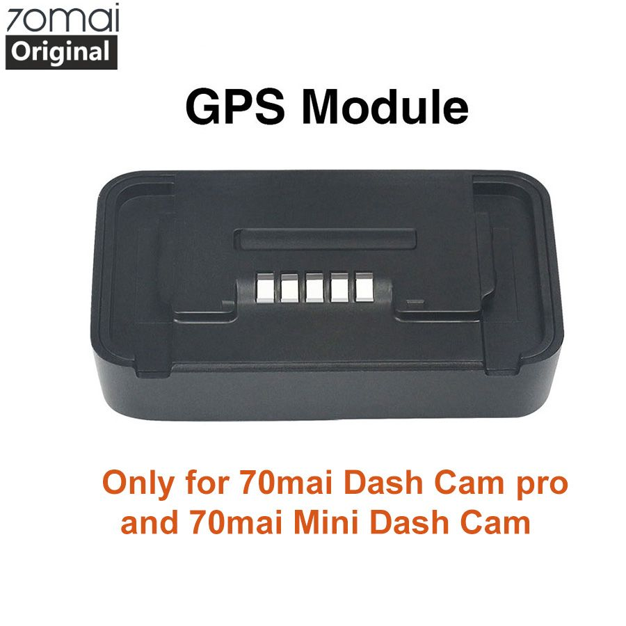 Original 70mai Pro GPS Module for 70 mai Dash Cam Pro 70mai mini Dash gen 2 Cam Car Dvr Pro GPS ADAS function Video Recording