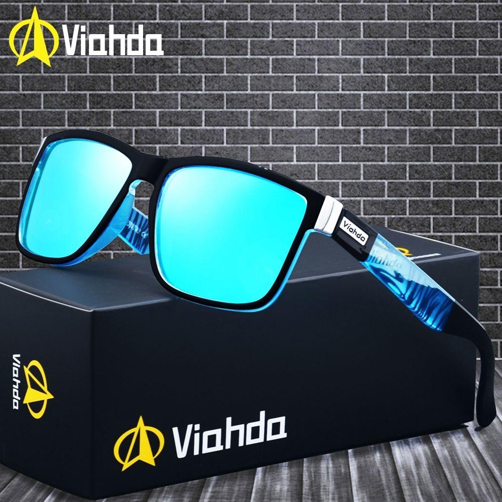 Viahda 2019 populaire marque lunettes De soleil polarisées Sport lunettes De soleil lunettes De soleil pour les femmes voyage Gafas De Sol