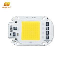 LED COB Lamp Chip 20W 30W 50W AC 110V 220V Smart IC LED Beads For DIY LED Grow Floodlight Bulb Day White Cold White Warm White