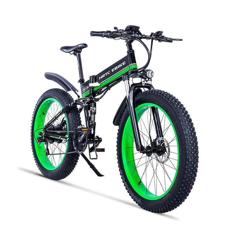 26 zoll elektrische mountainbike 750w fett ebike 4,0 schnee breite reifen falten elektrische fahrrad 48v lithium-batterie versteckte in rahmen EMTB