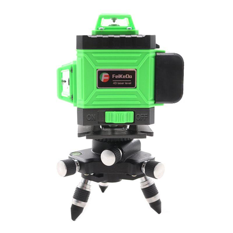 2020 neue Professionelle 16 Linie 4D laser ebene Japan Sharp Blau 515NM Strahl 360 Vertikale Und Horizontale Selbst nivellierung kreuz