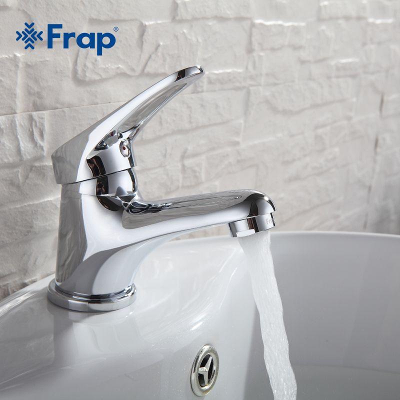 FRAP mini élégant élégant salle de bains bassin robinet en laiton navire évier robinet d'eau mélangeur Chrome finition F1013 F1036