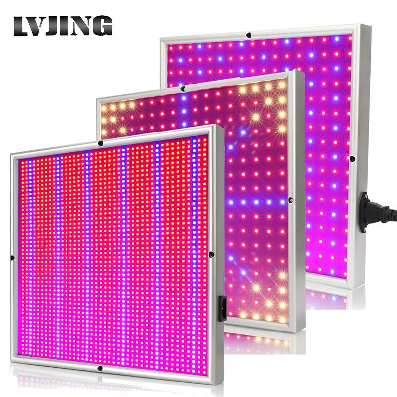 120W 1155Red + 210 bleu AC85 ~ 265V LED plante poussent des lampes légères pour la plante à fleurs et le système hydroponique intérieur LED panneau fitolamp