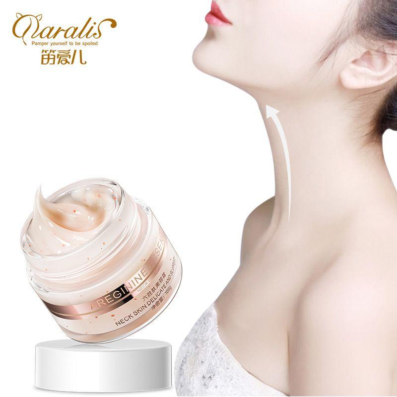 Daralis 100G Six Peptides Anti rides crème pour le cou blanchissant masque de levage raffermissant pour le cou soin de la peau délicat et glissant