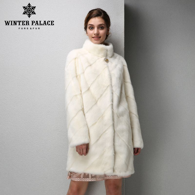 2019 mode Frauen nerz mantel kurze leder nerz pelz mantel schwarz pelz mantel Schlanke echtpelz mantel WINTER PALACE