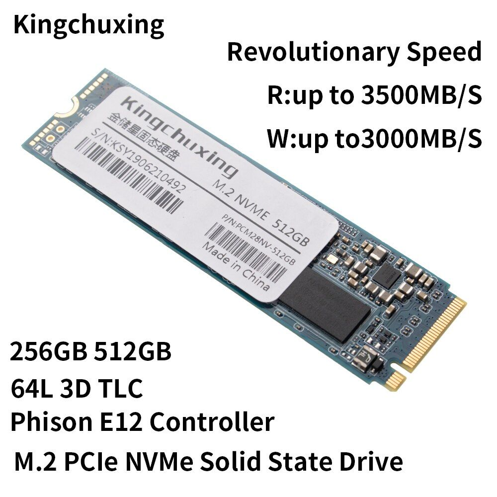 SSD M2 HDD 128 GO 256 GO 512 GO à 1 TO жесткий диск m.2 NVMe PCIe SSD Disque dur pour Ordinateur par Kingchuxing