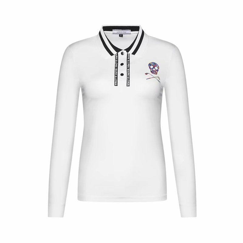 Chemise de Golf femme dernière marque printemps été. T-Shirt de sport LONA manches longues anti-boulochage T-Shirt de Golf complet livraison gratuite
