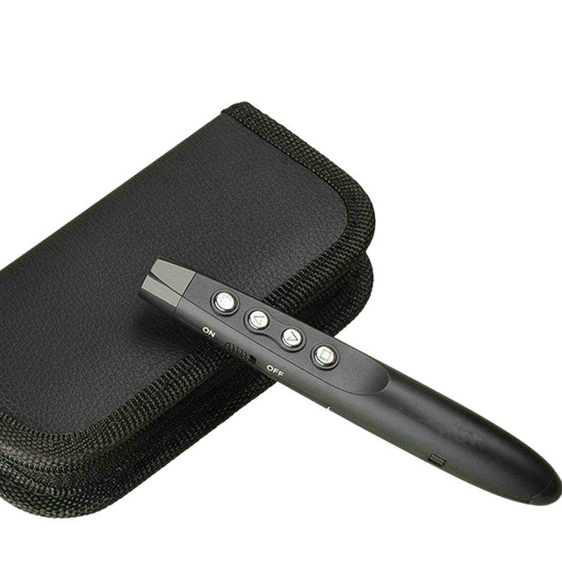 Ffyy-rf 2.4G sans fil Ppt présentateur glissière Advancer stylo à rabat pointeur présentation Powerpoint Clicker télécommande