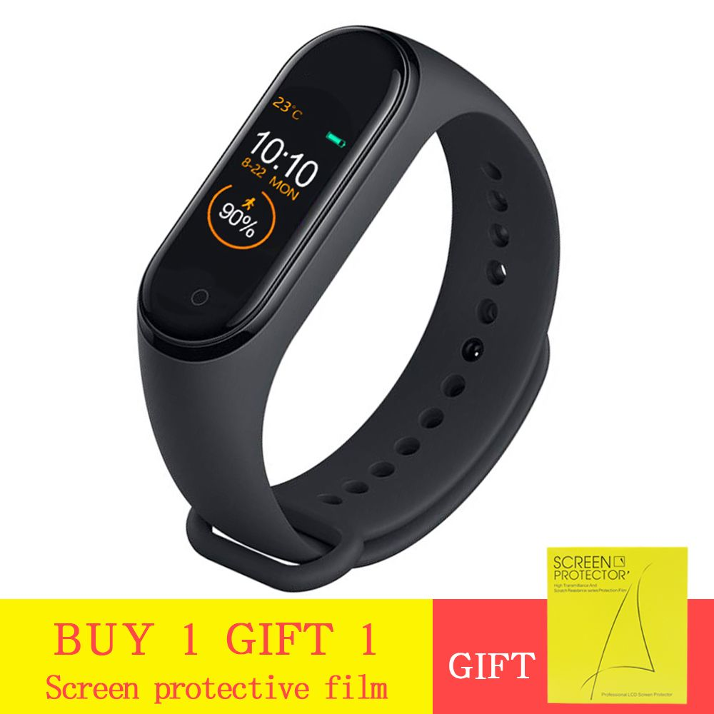 M4 Smart Band Heart Rate Blood Pressure Monitor Fitness Bracelet Sport Smart Bracelet Smartband Activity Tracker pk mi band 4