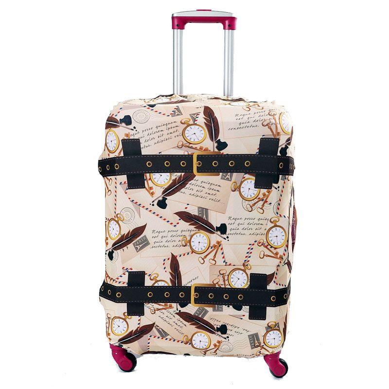 OKOKC valise de voyage plus épaisse housse de protection pour malle appliquer à 19 ''-32'' couvercle de valise élastique parfaitement
