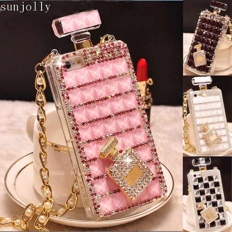 Coque en diamant 3D de luxe en strass strass housse Diamante Coque Capa pour iPhone 11 Pro Max X XS MAX XR 6/6s 8/7 Plus 5S SE 5C