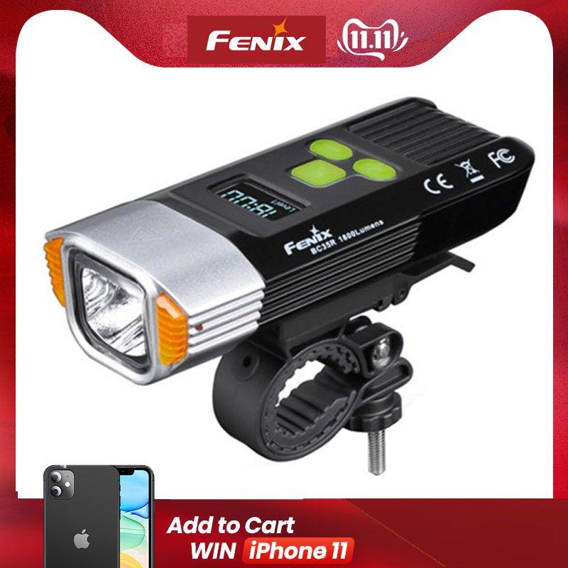 2018 Fenix BC35R 1800 Lumen Cree XHP50 Neutral White LED USB Aufladbare Licht