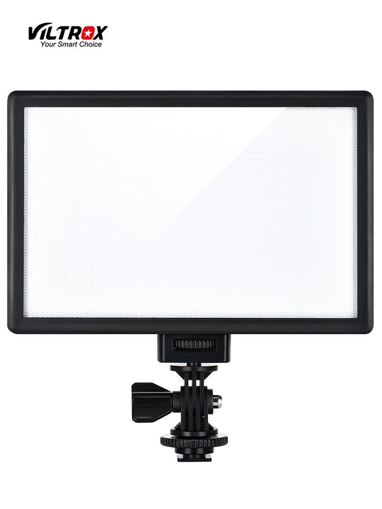 Viltrox L116T LED lumière vidéo Ultra mince LCD bicolore et Dimmable DSLR Studio lumière LED panneau de lampe pour caméra DV caméscope