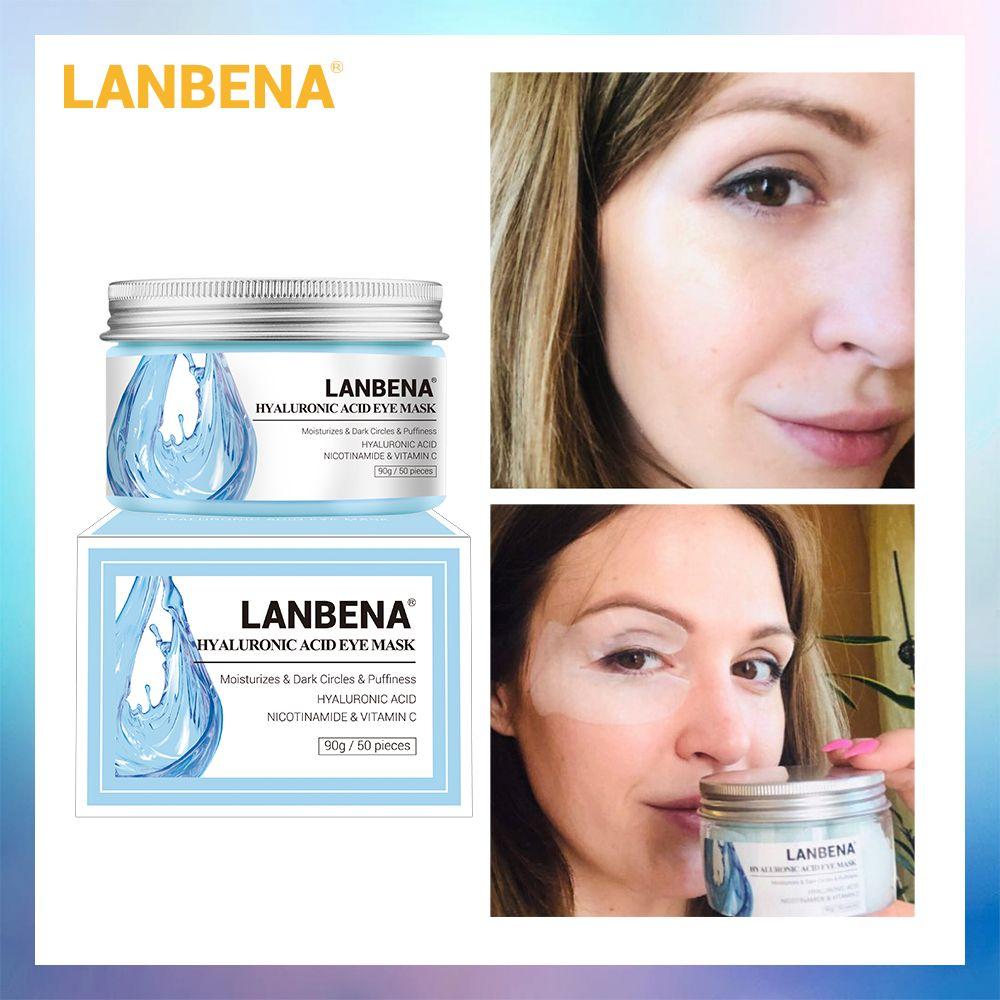 LANBENA rétinol masque pour les yeux acide hyaluronique patchs pour les yeux sérum réduit les cernes sacs yeux lignes réparation nourrir raffermissant soins de la peau