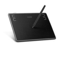 Huion H430P 4X3 Inch Ultralight Digital Pen Tablet Grafis Menggambar Tablet dengan Baterai-Gratis Stylus (Sempurna untuk OSU)