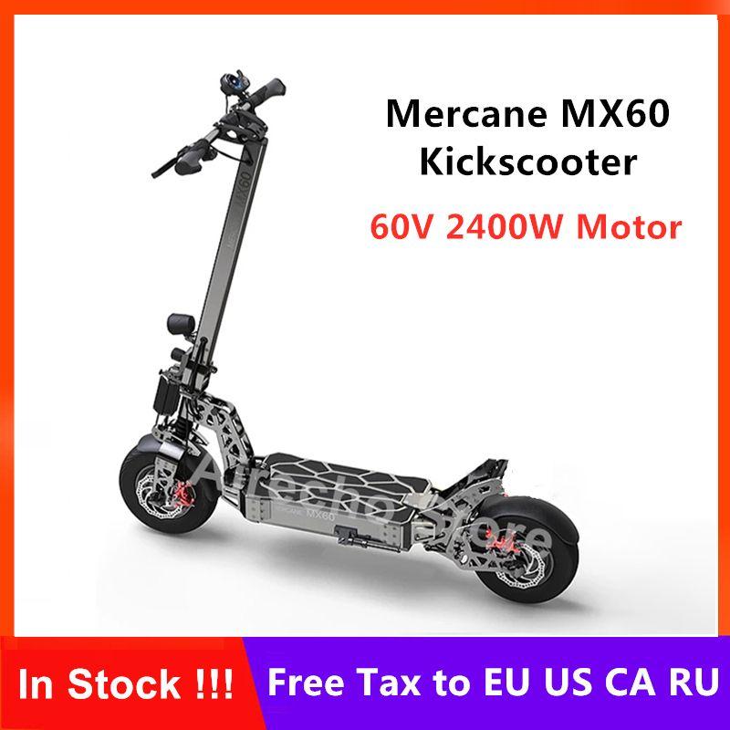 Neue Mercane MX60 Kickscooter Faltbare Smart Elektrische Roller 2400W Motor 60 km/h 100km Laufleistung 11 Zoll Reifen Dual bremse Skateboard