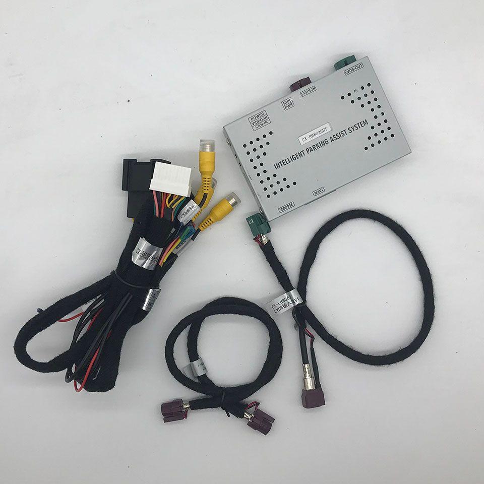 OEM Auto AV Eingänge Interface Reverse Kamera Lösung Für X5 Serie G05 BMW 2019 Unterstützung PDC Smart Parkplatz Assistent System