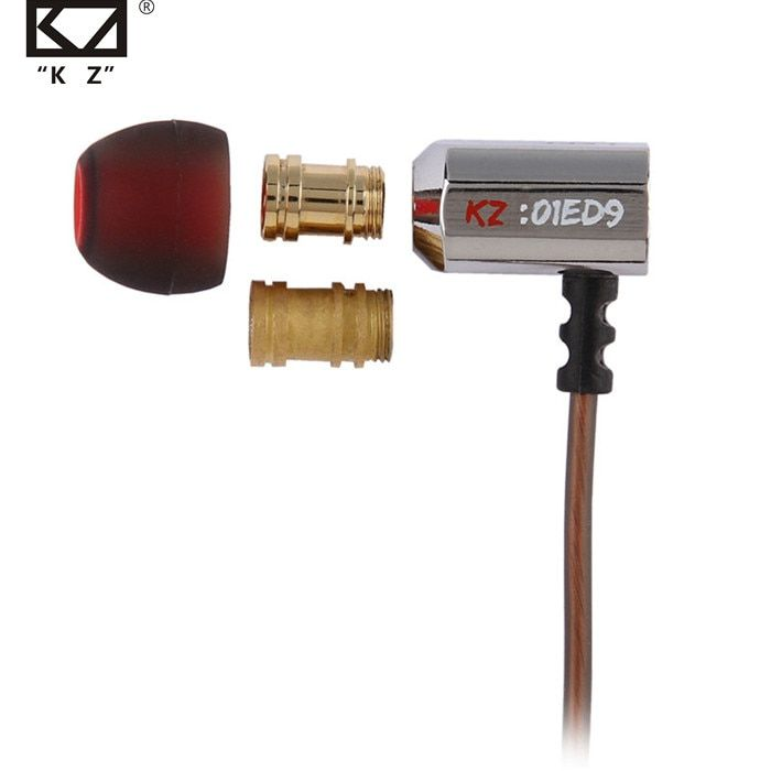 KZ ED9 Super bol Tuning buses écouteur dans l'oreille moniteurs HiFi écouteurs avec Microphone Transparent son casque dynamique écouteurs