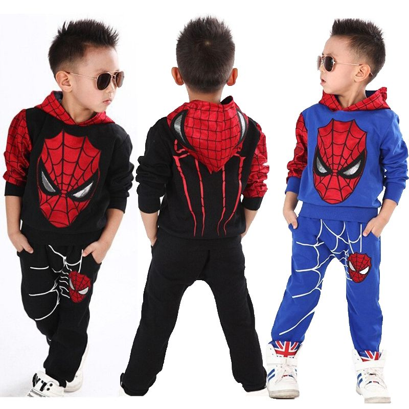 Spiderman bébé garçons vêtements ensembles Sport vêtements costume pour garçons printemps Spider-Man Cosplay bambin enfants vêtements enfants vêtements