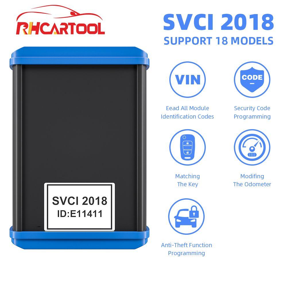 SVCI FVDI V2018 Original FVDI ABRITES Kommandant FVDI Volle Version 18 Software VVDI Keine zeit begrenzte V2014/2015 FVDI