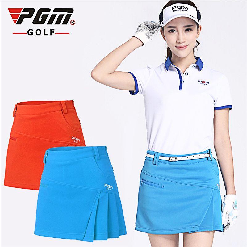 PGM marque femmes Golf court couleur unie jupe robe Shorts pantalons Kilt Golf vêtements séchage rapide jupes Sportswear 3 couleurs 5 tailles