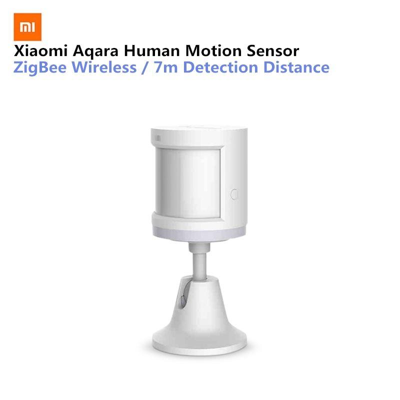 Dispositif de sécurité Original de capteur de corps humain de maison intelligente d'aqara avec le support détection d'intensité lumineuse de sens de mouvement de support