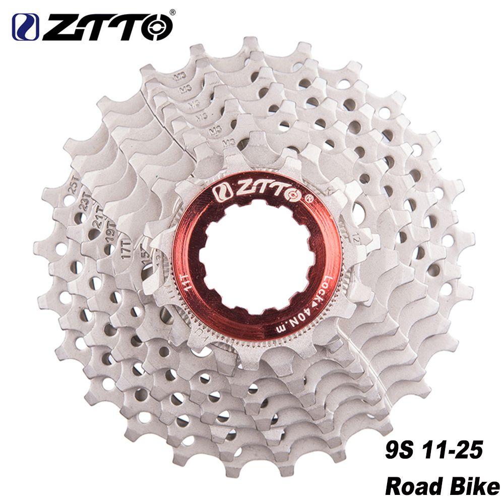 ZTTO roue libre de vélo de route 8 9 10 11 vitesses Cassette 11-25t 11-28t pignons de vélo compatibles pour Sunrace Shimano HG System