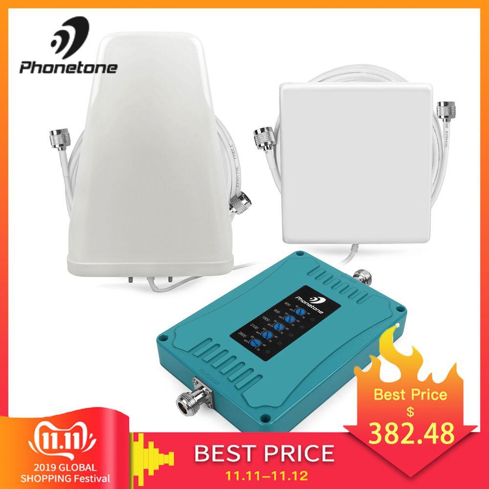 2G 3G 4G Signal Booster GSM Repeater 800/900/1800/2100/2600/ MHz Celular 4G LTE Verstärker Repeater 4g lte Mobilen Netzwerk Booster
