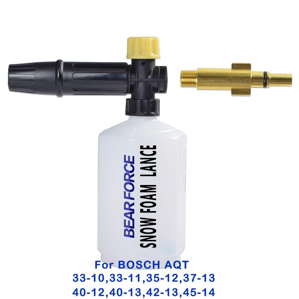 Pistolet à mousse de savon/buse de lance de mousse de neige/générateur de mousse/pulvérisateur de shampooing de lavage de voiture pour le nettoyeur haute pression BOSCHE