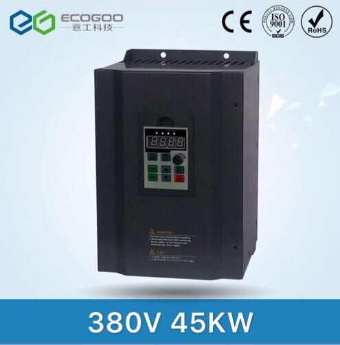 45KW Frequenz Inverter-Freies Shipping-45KW VFD/50Hz bis 60 Hz Frequenz Konverter/AC stick/Motor speed controller