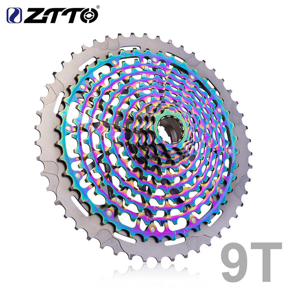 ZTTO Ultimative MTB 11 Geschwindigkeit 9-50T und 12 Geschwindigkeit 9-50T ULT XD Fahrrad Kassette regenbogen Voller stahl Mountainbike Schwungrad Kettenrad
