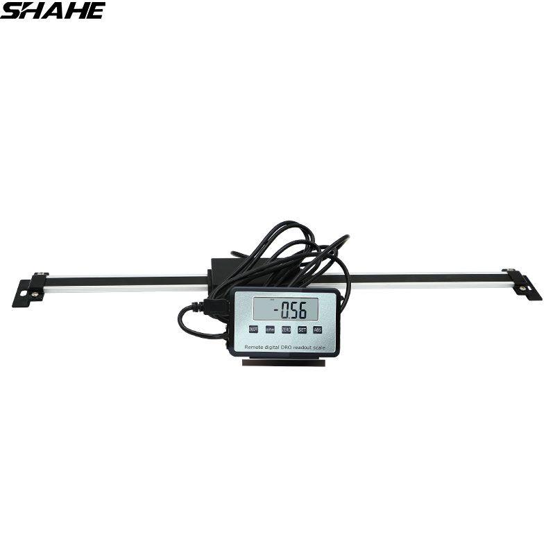 Shahe 0-150mm/0-200mm/0-300mm numérique Table lecture échelle linéaire DRO magnétique à distance affichage externe pour Bridgeport moulin tour