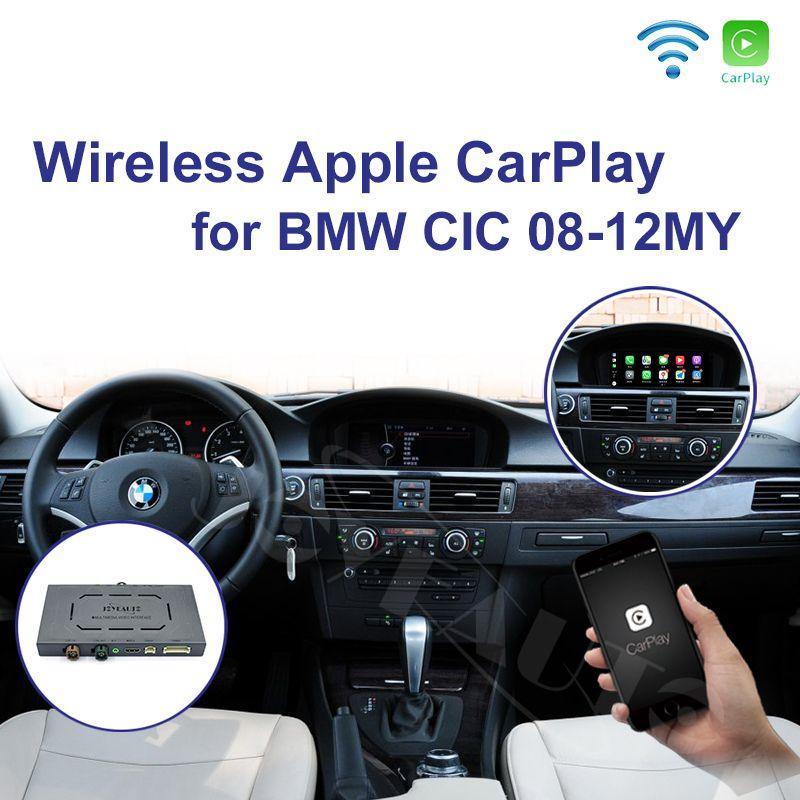 Joyeauto WIFI Drahtlose Apple Carplay für BMW CIC 6,5 8,8 10,25 zoll 1 3 5 6 7 serie X1 X3 x5 X6 2009-2013 Android Auto Auto Spielen