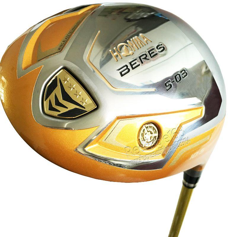 Nouveaux clubs de Golf pour hommes HONMA S-03 4 étoiles pilote de Golf 9.5 ou 10.5 clubs de pilote de loft avec arbre de Golf en Graphite Cooyute livraison gratuite