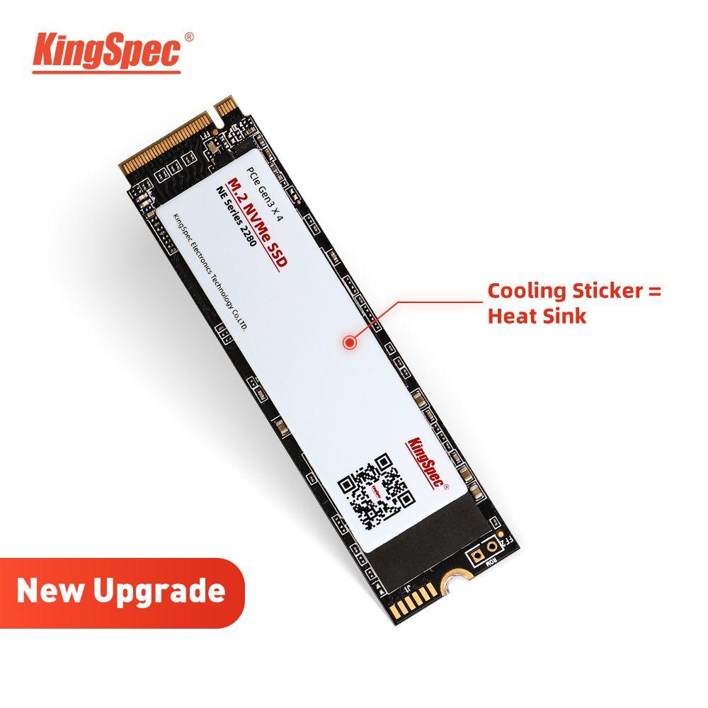 KingSpec m2 ssd PCIe 1 TO M.2 ssd 240 GO SSD m2 2280 500 GO 120 GO NVMe M.2 SSD Touche M 2 TO de disque dur pour Ordinateur De Bureau ordinateur portable interne Disque dur