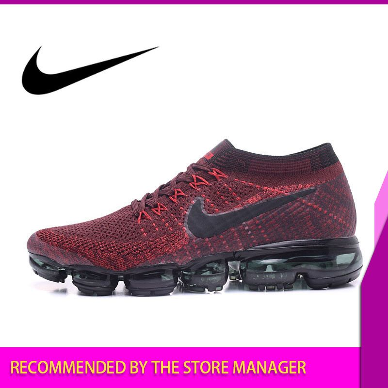 Nike Air VaporMax Flyknit Men's Running Shoes Sport Outdoor Sneakers Designer Athletic Good Quality 2018 New Footwear 849558-009