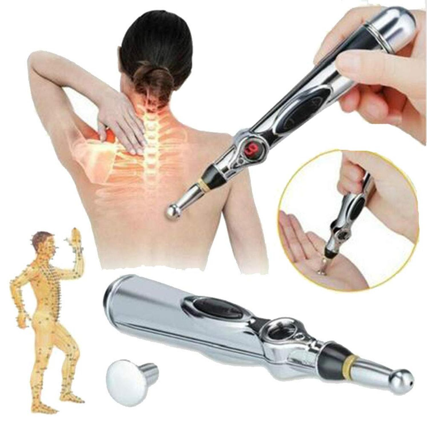 Electric Acupuncture Magnet Therapy Heal Massage Pen Meridian Energy Pen Worthy Pain Relief Therapy Pen Safe Acupuntura