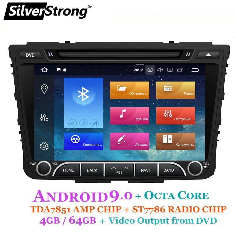 SilverStrong IPS 4G 64GB Android9.0 Auto DVD Für Hyundai Creta IX25 2014-18 2DIN DVD Radio Navigation option 2G16G/DSP/TPMS/DVR