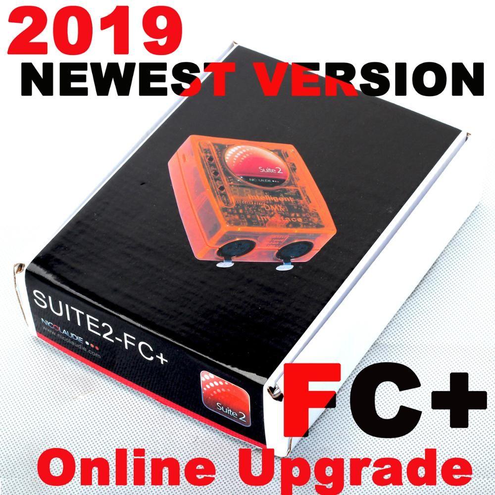 Sunlite 2 FC + Professionelle Bühne controlling-software Sunlite Suite 2 FC DMX-USB interface DASLIGHT dmx controller konsole