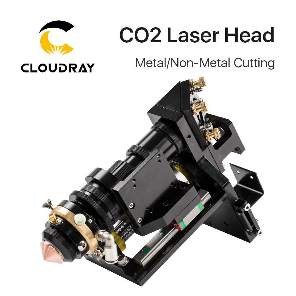 Cloudray 150-500W CO2 Laser Schneiden Kopf Metall Nicht-Metall Hybrid Autofokus