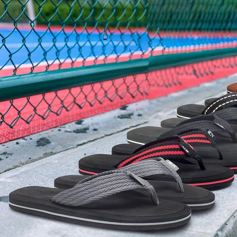 Marque tongs hommes chaussures été plate-forme sandales hommes sandales de plage décontractées confort pantoufles haute qualité chaussure hommes grande taille 48